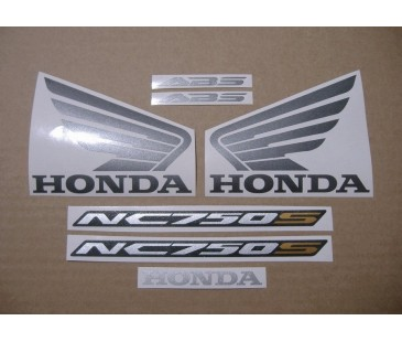 HONDA NC700S STICKER SET