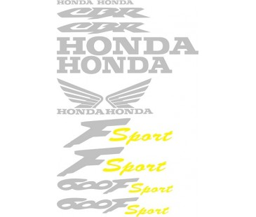 Honda 600Fsport sticker set,motosiklet sticker
