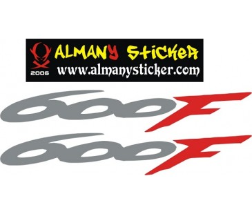 Honda 600f Sticker