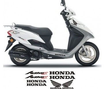 Honda Activa S sticker set