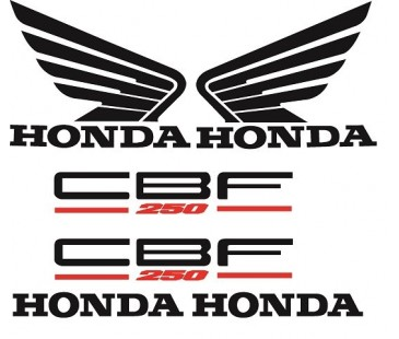 Honda Cbf 250 Sticker Set