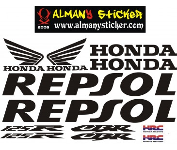 Honda Cbr 125R Sticker set