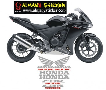 Honda Cbr 500r Sticker set