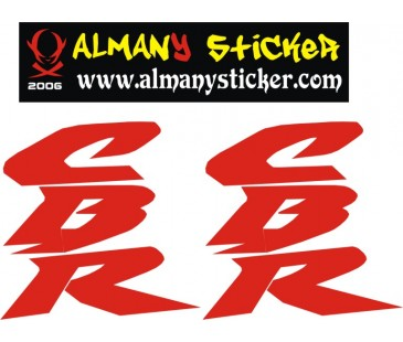Honda Cbr Yan Grenaj Sticker Set