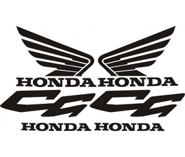 Honda Cg125 Sticker Set
