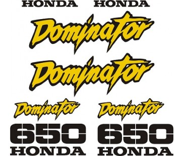 Honda Dominator 650 sticker set,motosiklet sticker