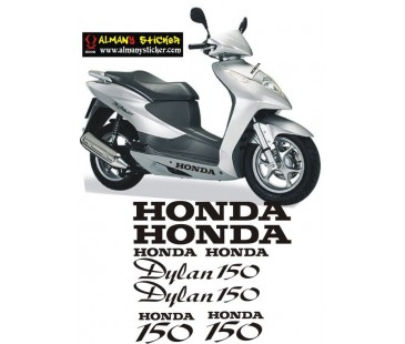 Honda Dylan Sticker set