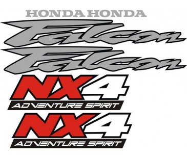 Honda Falcon Nx Sticker Set