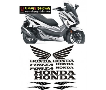 Honda Forza Sticker Set