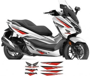 Honda Forza Sticker set-12