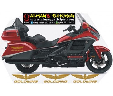 Honda Goldwing Sticker Set,Goldwing kartal sticker
