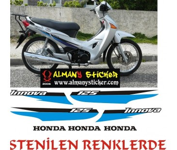 Honda İnnova Sticker Set