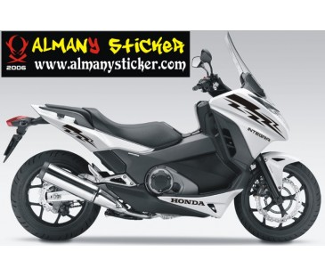 Honda İntegra Sticker Set