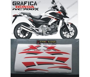 Honda Nc700,750 Sticker Set