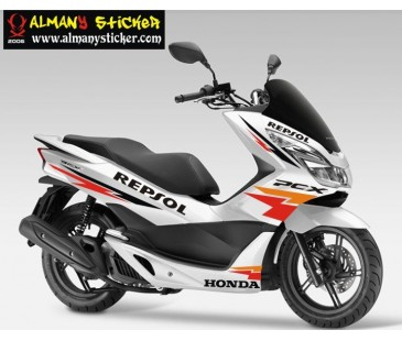 Honda Pcx sticker Set -6,pcx sticker,motosiklet sticker
