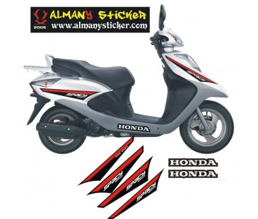 Honda Spacy Sticker Set
