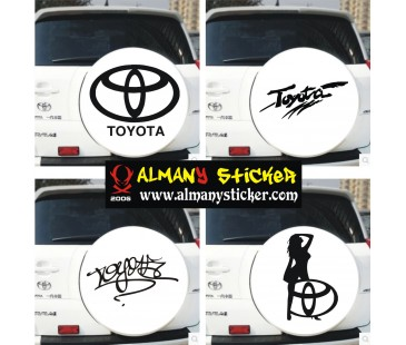 Toyota Stepne Sticker
