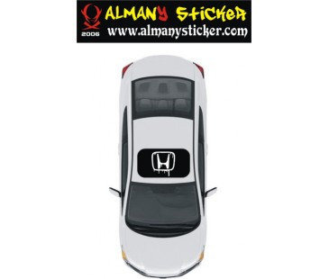 Honda Sunroof sticker,sanruf sticker