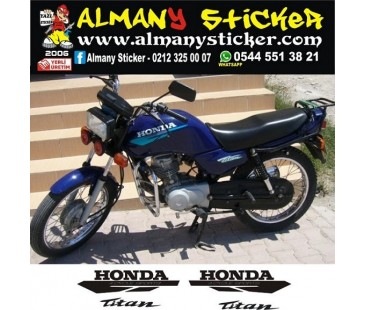 Honda Titan125 Sticker set,motosiklet sticker