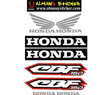 Honda cbf150 sticker set,motosiklet sticker