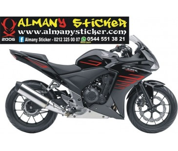 Honda cbr 125r,250r,500r sticker set,honda sticker,motosiklet sticker