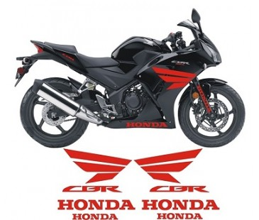 Honda cbr 250r sticker set,motosiklet sticker