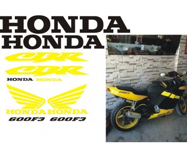Honda cbr 600f3 sticker set