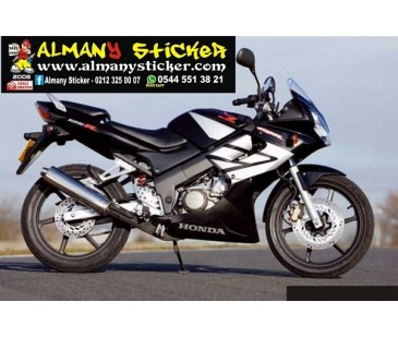 Honda cbr125 sticker set,honda sticker,motosiklet sticker