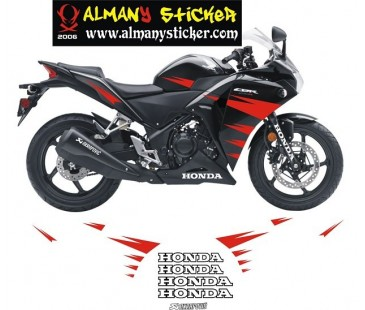 Honda cbr250r sticker set-2