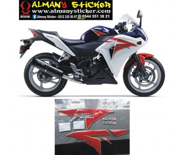 Honda cbr250r sticker set