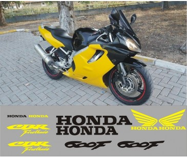 Honda cbr600f sticker set,Motosiklet sticker