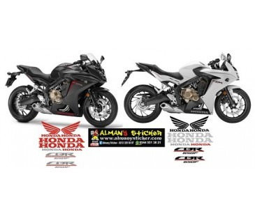 Honda cbr650f sticker set,motosiklet sticker