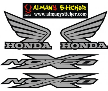 Honda ncx750 sticker set