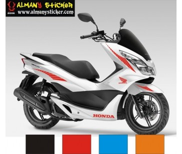 Honda pcx sticker set.pcx sticker,honda sticker,motosiklet sticker-665
