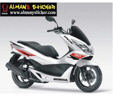 Honda pcx sticker set.pcx sticker,honda sticker,motosiklet sticker