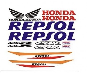 Honda repsol 125 sticker,repsol sticker