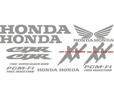 Honda xx1100 Sticker Set