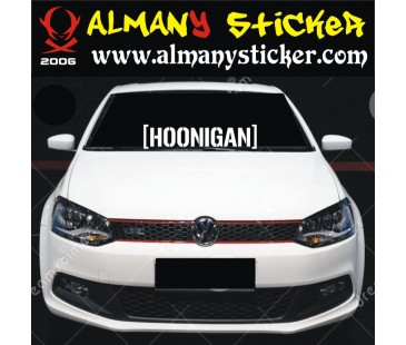Hoonigan Sticker,Oto Sticker