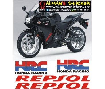 Hrc ve repsol sticker set