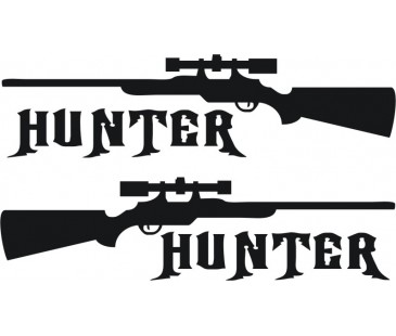 Hunter,Avcı Sticker