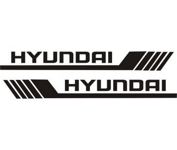 Hyunda ayna kapağı sticker,hyundai sticker,oto sticker