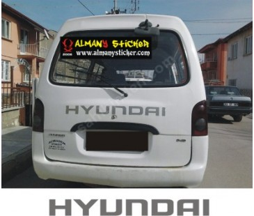 Hyundai H100 Sticker