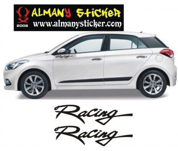 Hyundai i20 Racing Sticker