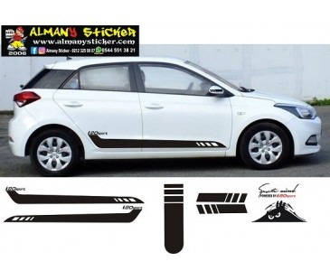 Hyundai i20 sticker set