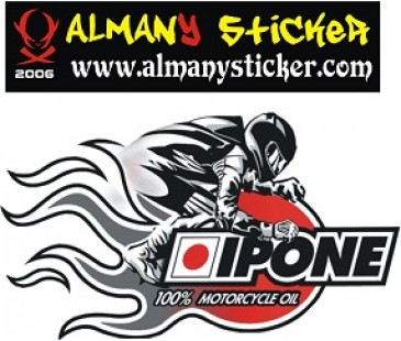İpone sticker,motosiklet sticker