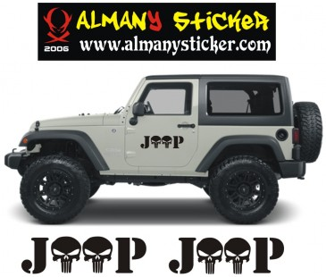 Jeep Kurukafa Sticker-2