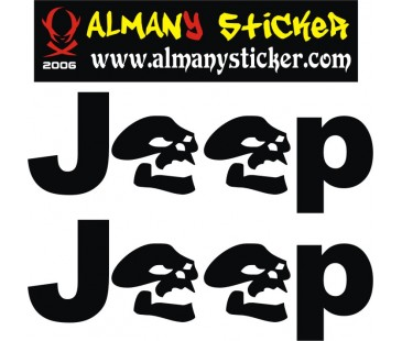 Jeep Kurukafa Sticker,off road sticker