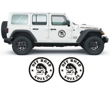 Jeep kapı sticker