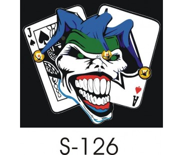 Joker Sticker-5,oto sticker,motosiklet sticker