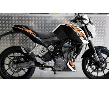 KTM DUKE 200 STİCKER KOMPLE SET